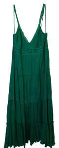 Parrot Green Maxi Dress by BCBGMAXAZRIA
