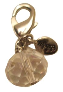 Juicy Couture Clear Jewel Juicy Couture charm/ So Cute! NWOT