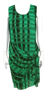 SPANNER short dress Green and Black Beach Sweet on Tradesy