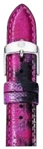 Michele New Michele 18mm Twilight Purple Fashion Leather Watch Strap MS18AA430507 $100