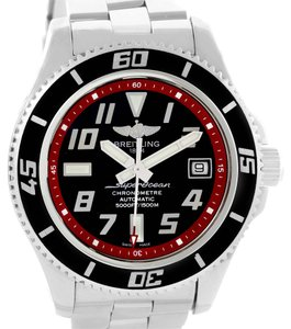 Breitling Breitling Aeromarine Superocean 42 Abyss Red Steel Date Watch A17364