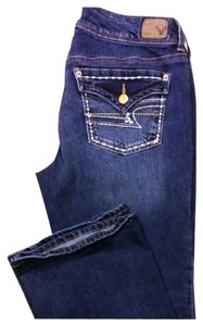 American Eagle Outfitters Boot Cut Jeans-Dark Rinse