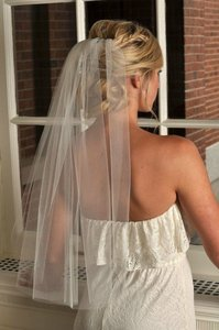 Other 1 Layer Wedding Bridal In White
