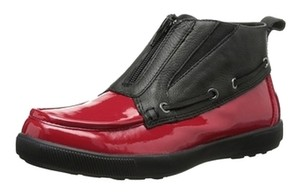 Cougar Patent Leather Red Boots