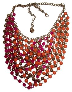 R.J. Graziano Bead Bib Multi-Strand Swag Statement Necklace --Superb!