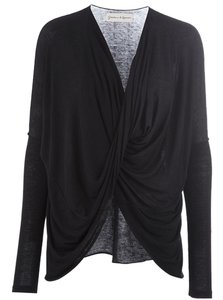 Graham & Spencer Drape Front Top Black