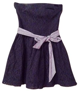 Abercrombie & Fitch short dress Navy Tube Top on Tradesy