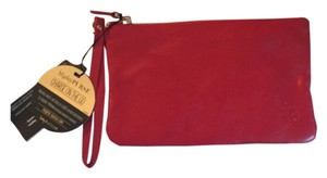 Handy butler Purse Ruby Red Clutch