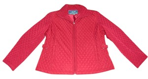 Classic Elements Wine Large Quilted Maroon/Burgundy Jacket