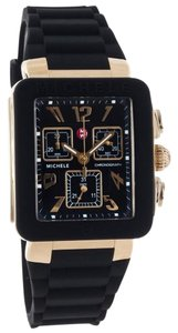 Michele Michele MWW06L000015 women's Park Jelly Bean Gold Analog Watch