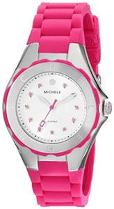 Michele Michele MWW12P000002 Women's Jellybean Silver Analog Watch