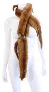 100% authentic Mink fur stole/scarf Mink scarf
