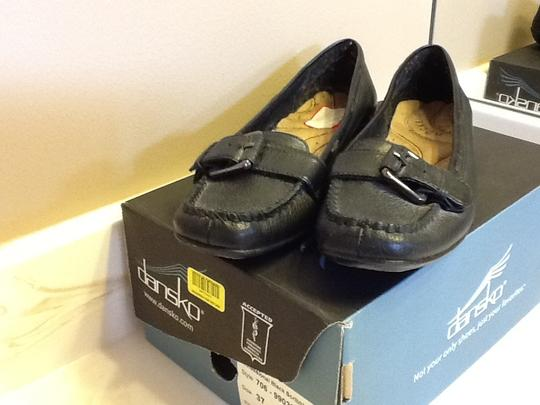 Dockers Buckle Casual Comfortable Office Black Flats