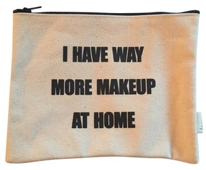 Pamela Barsky Makeup Cosmetics Cream And Black Clutch