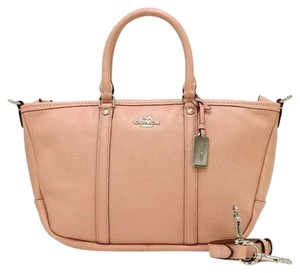 Coach 37154 Central Satchel in SILVER/SHADOW ROSE