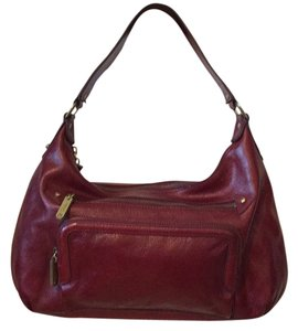 Cole Haan Shoulder Satchel in Burgundy