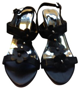 Beverly Hills Polo Club Black Sandals