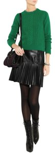 Rag & Bone Mini Skirt Black leather