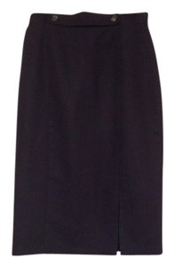 Worthington Skirt navy blue