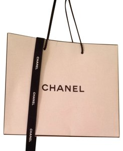 fbb15824a11ed3 Added to Shopping Bag. Chanel Chanel Shopping Bag & Ribbon. Chanel White ...