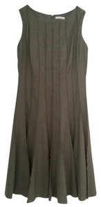 Calvin Klein A-line Pleated Dress