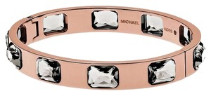Michael Kors Michael Kors Parisian Jewels Bangle Bracelet Cubic Zirconia Rose Gold