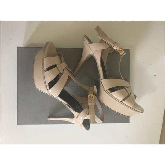 Saint Laurent Nude Sandals Image 1