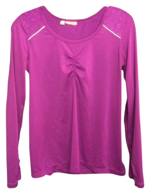 Item - Magenta With Thumb Cuffs Activewear Top Size 4 (S, 27)