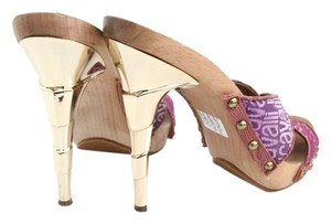 Just Cavalli Roberto PINK, PURPLE, GOLD Mules