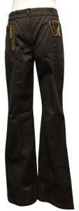 Roberto Cavalli Boot Cut Pants Brown