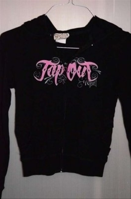 Tapout Zippered Size L (this Is Juniors L); Measurements Are 17 Sweatshirt
