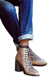 Free People European Styling Stunning tan croc Boots