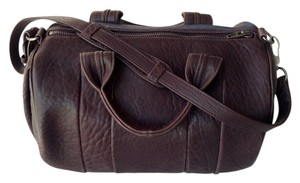 Alexander Wang Designer Studded Convertible Satchel in Iodine