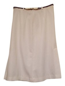 Pan-ter Plus-size Skirt white