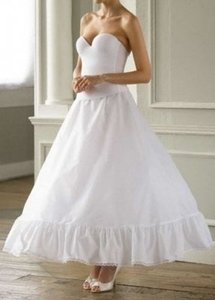 David's Bridal White Slip Petticoat Size 14