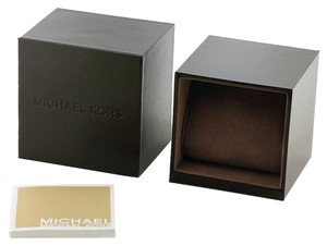 Michael Kors Michael Kors Leather Mens Womens Watch Box