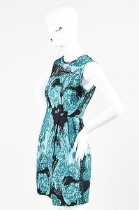 Nanette Lepore Teal Black Dress