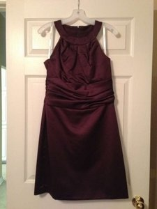 David's Bridal Brown F13277 Dress