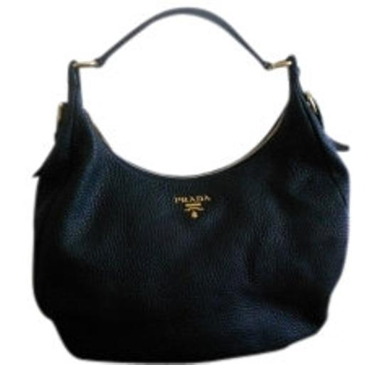 Preload https://item2.tradesy.com/images/prada-vitello-daino-black-pebbled-leather-hobo-bag-12426-0-0.jpg?width=440&height=440