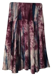 Paniz Skirt Purple/Blue/White