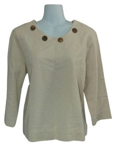 Hot Cotton Cream Tunic