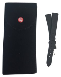 Michele Removable Watch Band in Black