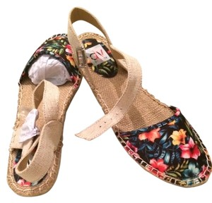 DV by Dolce Vita Floral Espadrille Tropical Floral Sandals