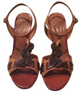 Cole Vintage Designers Brown and tan Pumps