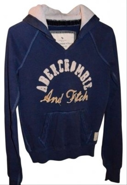 "Abercrombie & Fitch & Size S Measurements Are:18""underarm To Underarm (laying Flat) Sweatshirt"