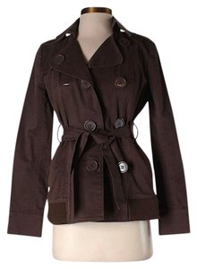 BCBGeneration Double Breasted Trench Coat