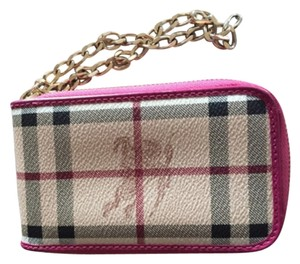 Price dropped! Burberry Wristlet in Brown/pink