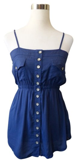 Matix Navy Size Medium Top Blue 80%OFF