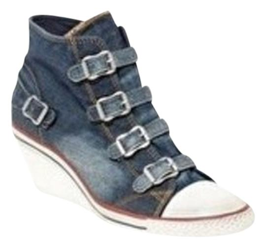 Ash Denim Wedges