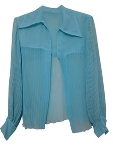 Ursula of Switzerland Top blue